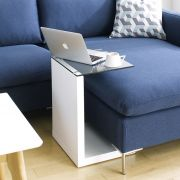 Tupit-White  Mobile Table