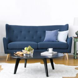 Kamma-Blue  3-Seater Sofa