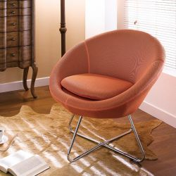 Center-Orange  Resting Chair