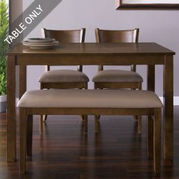 Cabin-4-Walnut-D  Dining Table (Table Only)
