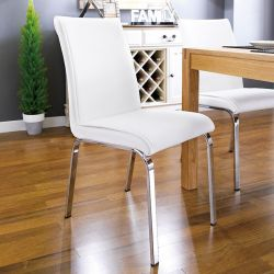 Leonora-White  Chair