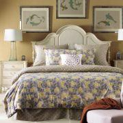 B3604-54H-HB  Queen Panel Bed