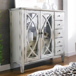 13386-White  Briley Cabinet