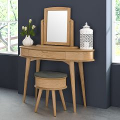 Orbit-Oak  Wood Vanity