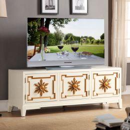 Cream 59  Small TV Stand