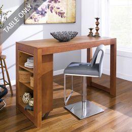 D390-2-Oak-IT  Island Table  (Table Only)