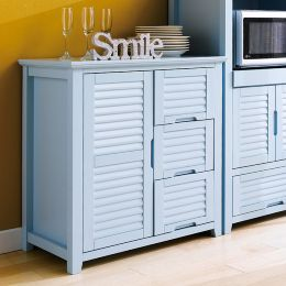 MiMi-Blue-Drawer  Cabinet