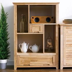MiMi-Natural-Open  Cabinet