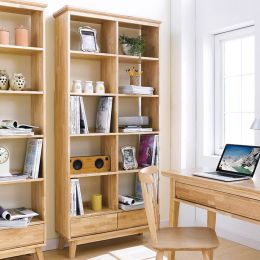 NB-Natural-LB  Large Bookcase