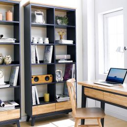NB-Blue-LB   Large Bookcase