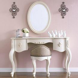 Y3657-30/43  Vanity & Oval Mirror