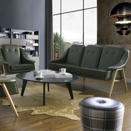 Camello-Green  3-Seater Sofa