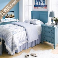 Y3820-63HB-HB  Single Panel Bed