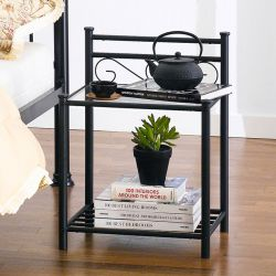 Billy-Black  Side Table