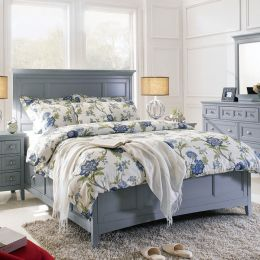 B3572-54   Queen Storage Bed