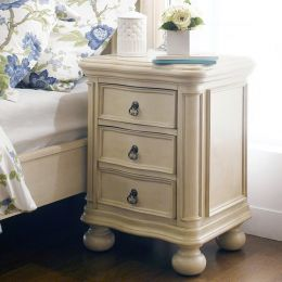 Lily-Ivory  Nightstand