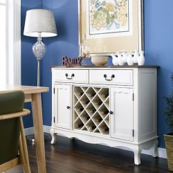 D2971-10  Sideboard w/ Wine Storage