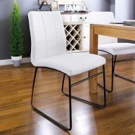 Justin-2-White Soft Chair