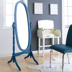 TP-602-Blue Oval Mirror
