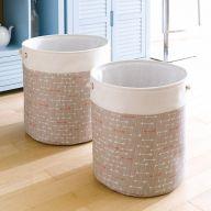 Nested Set  Baskets (2 Pcs 포함가격)