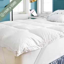 Goose Down Topper-1500 Queen Mattress Topper (Mattress Size: 1500mm x 2000mm)~(최고급)~