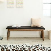 Zodax-6-Walnut-LB  Long Wooden Bench