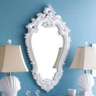 MI12347-WHT  Wall Mirror
