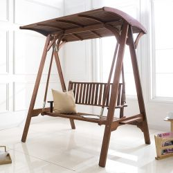 Curved-Back  Swing Bench