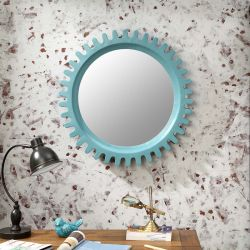 Sun-Blue  Wall Mirror