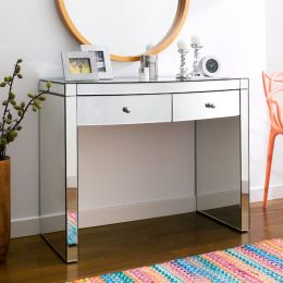 RU12-B  Bow Mirrored Console