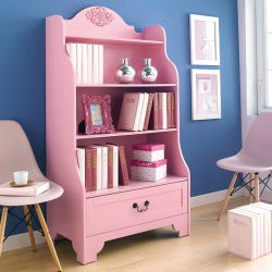 Eleanor-Pink   Bookcase
