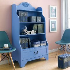 Eleanor-Blue   Bookcase