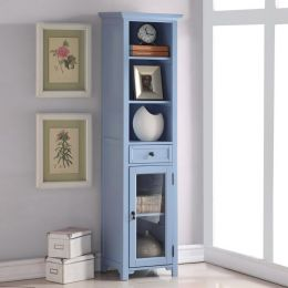 9047-Blue  Bookcase