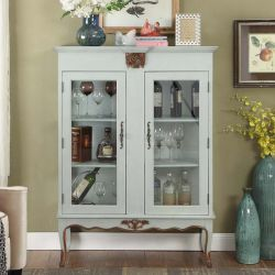 French-1000   Curio Cabinet