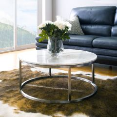 Bran-RND-Marble   Marble Round Coffee Table