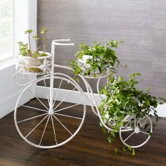 PL08-6942  Bicycle Planter Stand