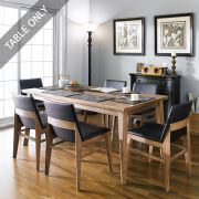 Zodax-6-Walnut-D  Dining Table (Table Only)
