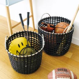 Round Hamper-Brown  (2 Pcs 포함)