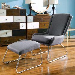Kerstin-Dark Grey  Resting Chair