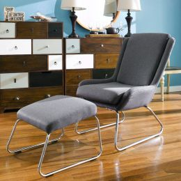 Kerstin-Dark Grey  Resting Chair