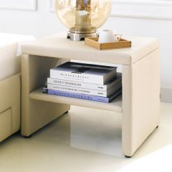 Karoo-Beige  Bed Side Table