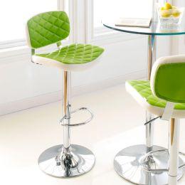 59789-Lime  Ajustable Bar Stool