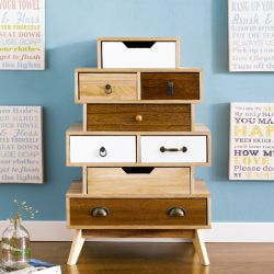 Haily-008  8-Drawer Console