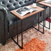 Aspen-600-Black  Sofa Desk