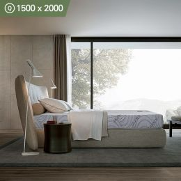 Carrera-1500  Queen Memory Foam Mattress (상단)