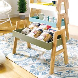 A-Tray-Green  Stackable Rack