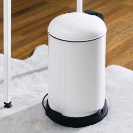 A-10106P-12L-Cream   Trash Can