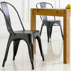 M-503-GREY  Metal Chair