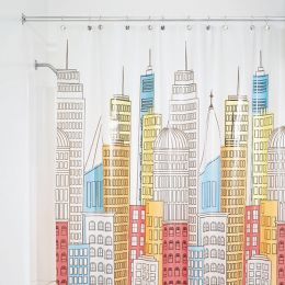 43298ES Shower Curtain  (Size: 180cm x 200cm)