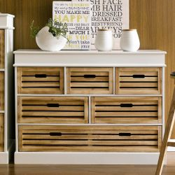 Bali-321  6-Drawer Chest